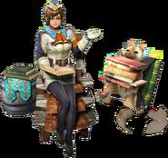 MHGen-Chica de Wycademia y Gatalogador