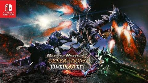 Monster Hunter Generations Ultimate - Announcement Trailer