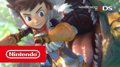 Monster Hunter Stories - Tráiler introducción (Nintendo 3DS)