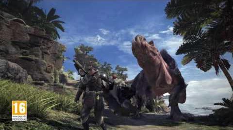 Monster Hunter World - Tráiler anuncio E3