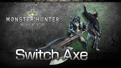 Monster Hunter World - Hacha Espada