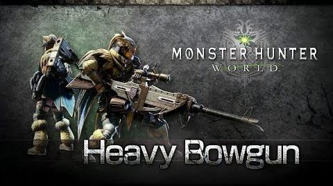 Monster Hunter World - Ballesta Pesada