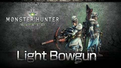Monster Hunter World - Ballesta Ligera