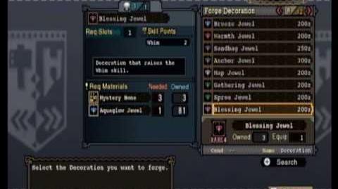Monster Hunter Tri - Armor and Skills Tutorial (Part 1)