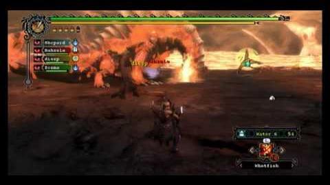 Monster Hunter Tri - Uragaan & Agnatkor (MBG)