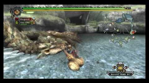 Monster Hunter Tri - Rathian Tutorial (Hammer)