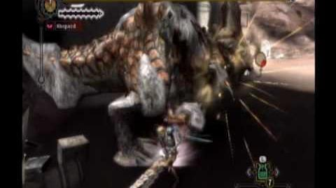 Monster Hunter Tri - Barroth Arena 10 12 (Long Sword)
