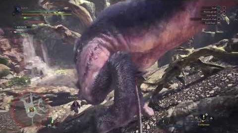Monster Hunter World Beta - Jagd auf den Anjanath