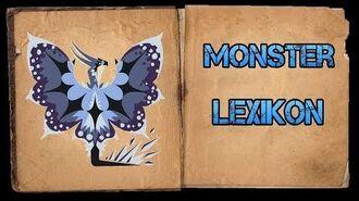 Monster Hunter World Iceborne - Monster Lexikon - Schneesturm-Legiana