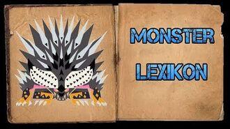 Monster Hunter World Iceborne - Monster Lexikon - Ruinen-Nergigante