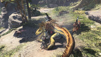 Monster Hunter World - Mehrspieler Groß-Jagra 01