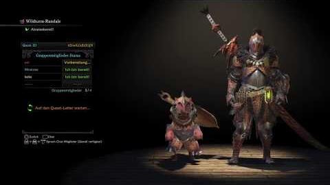 Monster Hunter World Beta - Jagd auf den Barroth