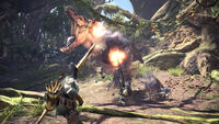 Monster Hunter World - Mehrspieler Anjanath 02
