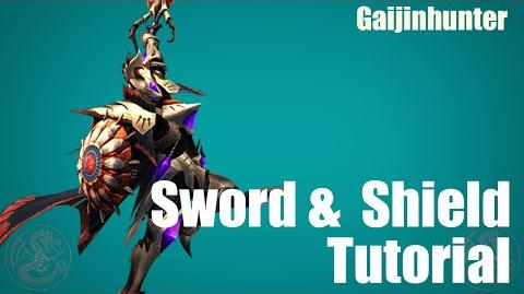 MH4G MH4U Sword and Shield Tutorial