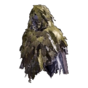 Ghillie mantle