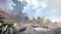 Monster Hunter World - Artwork - Uralter Wald