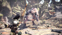 Monster Hunter World - Mehrspieler Anjanath 01