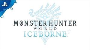 Monster Hunter World Iceborne Trailer PS4