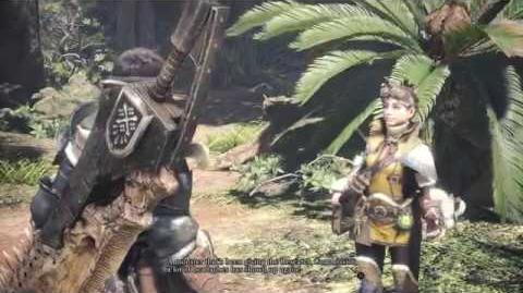 Monster Hunter World Uralter Wald Gameplay Video