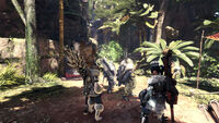Monster Hunter World - Mehrspieler Camp