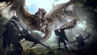 Monster Hunter World - Artwork - E3 01