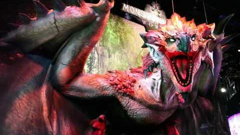 Monster Hunter World E3-Entwicklervideo PS4, Xbox One, PC