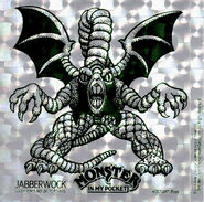 Jabberwock sticker