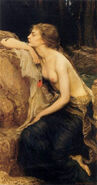 314px-Lamia by Herbert James Draper (1909)