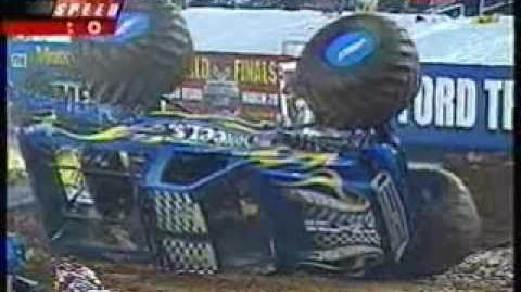 2004 USHRA Monster Trucks - Atlanta, GA - Freestyle Part 3