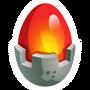 Pyrook-huevo