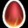 Firesaur-huevo
