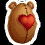 Teddy Fear-huevo
