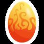 Fire Lion-huevo