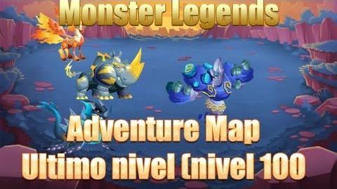 Monster Legends Adventure map ultimo nivel (nivel 100)
