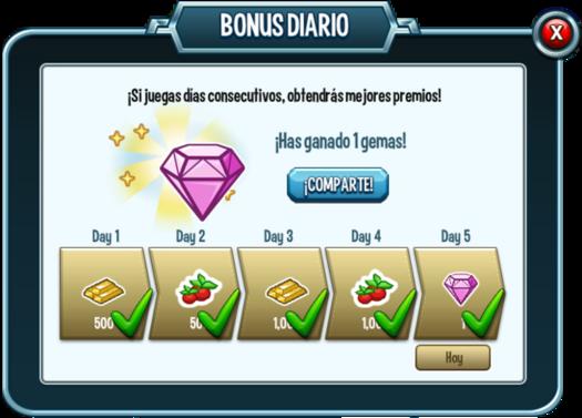 Bonus diario