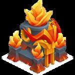 Templo Fuego Nivel 7