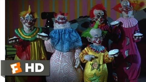 Killer Klowns from Outer Space (9 11) Movie CLIP - Pied to Death (1988) HD