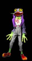 Purple-Dressed Frog