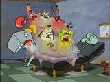Fused Together Characters (Spongebob Squarepants)