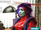Blue Skinned Alien