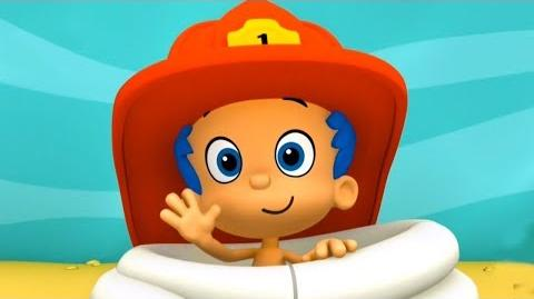 Bubble Guppies Gil & Molly Firefighters and dragon Episode of the game Nick Jr. BUBBLEGAMESDI