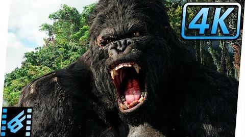 King Kong vs V. Rexes King Kong (2005) Movie Clip 4K
