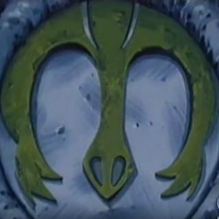 Das Symbol von Mirakel auf dem Turm der Festung