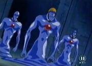 Blaue Wandler 4