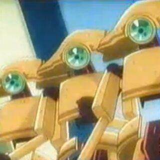 Robo und seine Freunde auf Straßenpatroullie.