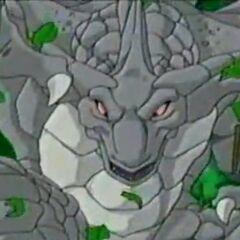 Felsen-Drache hat Genki und seine Freunde gesichtet