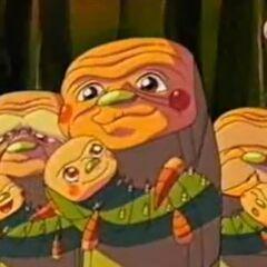 Die Farb-Pandoras haben ihre Kinder aus den Geheimnissteinen befreit.