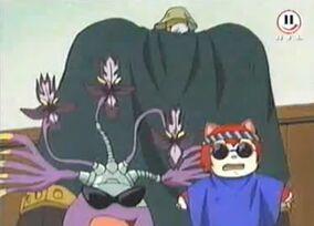 Flora, Gobi und Mew 2