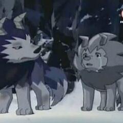 Tiger und Wolfszahn als Kinder.