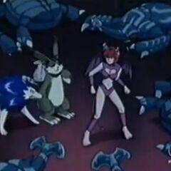 Tiger, Haki und Pixie sind von Nagas Armee umgeben